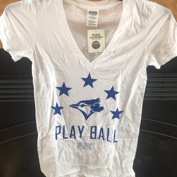 34ad9bf9c8 New Victoria Secret Pink Baseball Blue Jays